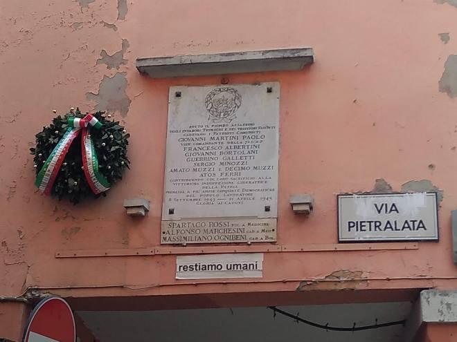 monumento aos que caíram no pratello bologna italia segunda guerra
