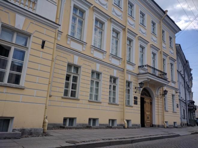 Petersburgo apartamento Puchkin poeta russo casa moika