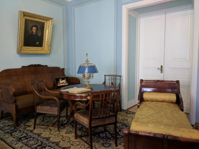 Petersburgo apartamento Puchkin poeta russo casa