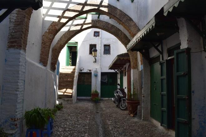 Marrocos Tetouan medina arcos