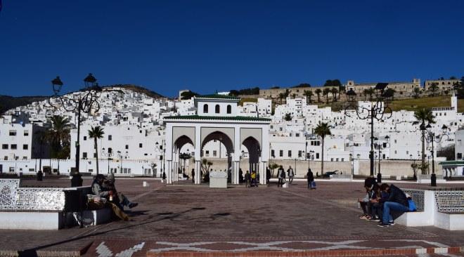 Marrocos Tetouan medina branca andalusa