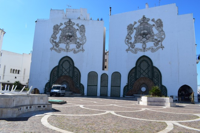 Marrocos Tetouan praça Hassan II
