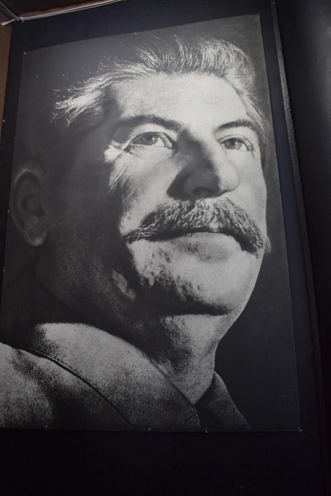 Georgia Gori museu stalin foto não retocada