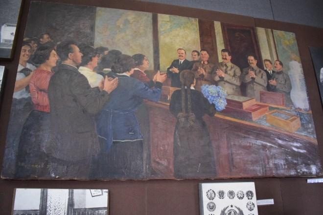 Georgia Gori museu stalin foto sem beria