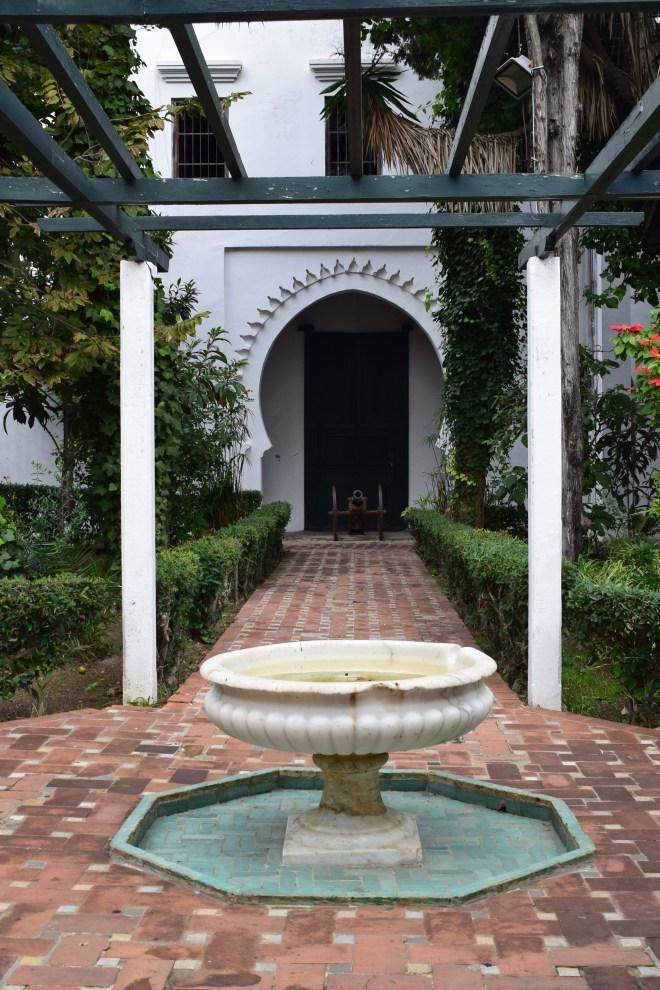 Marrakech Tangier museu Kasbah jardim fonte