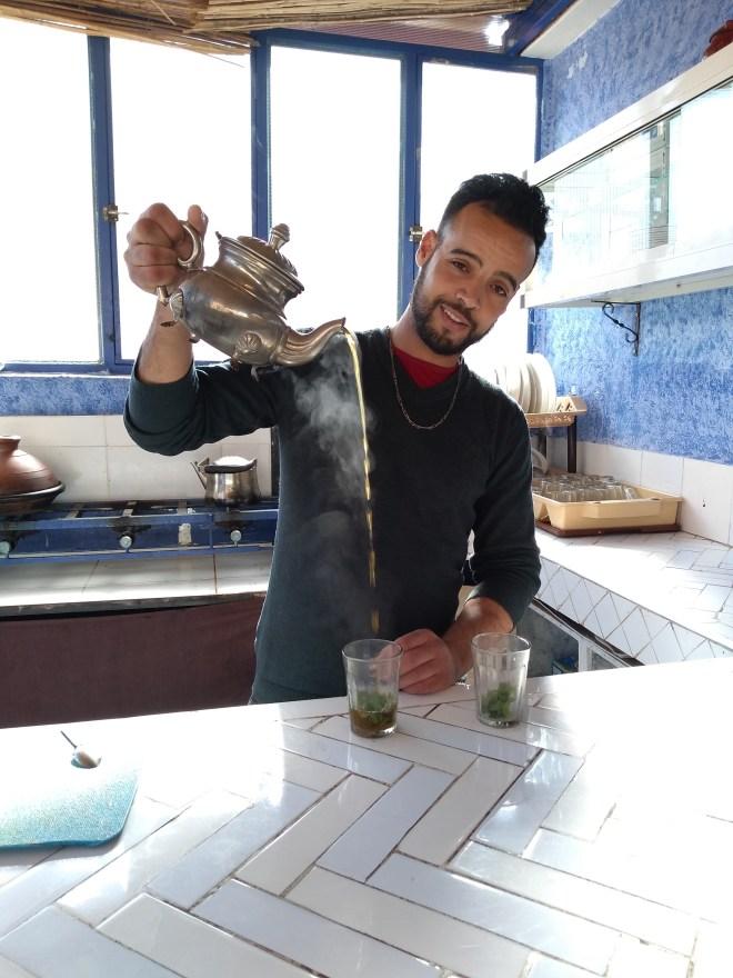 Marrocos comida típica provar chá de menta