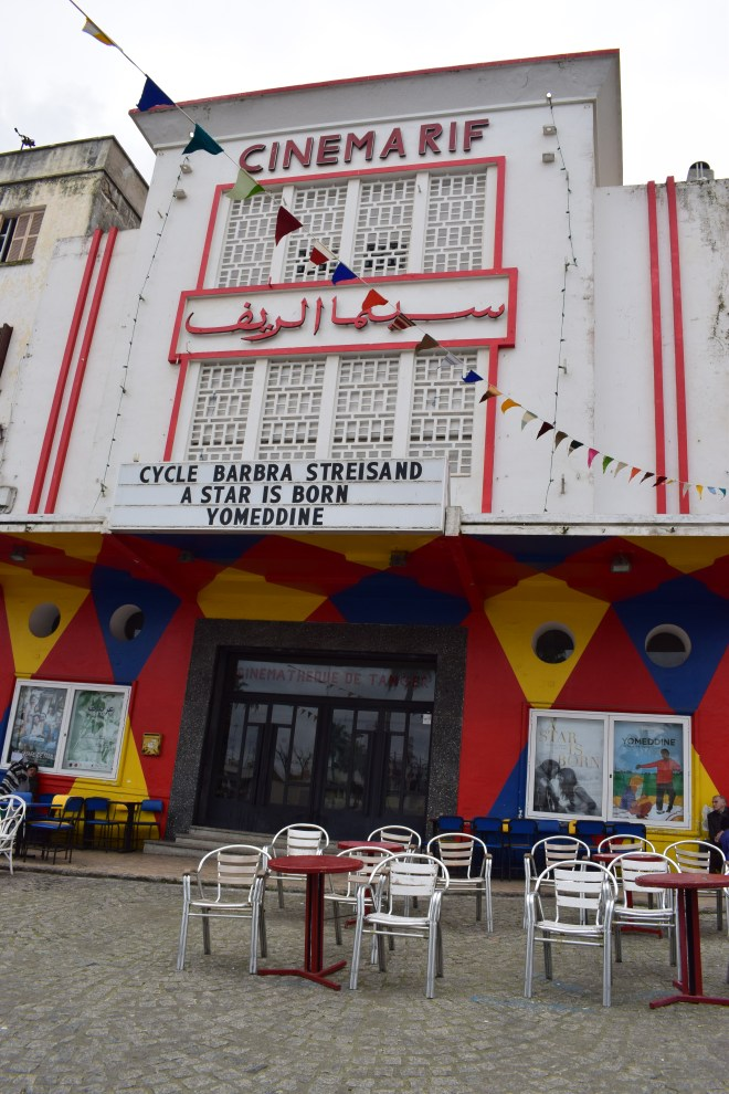 Marrocos Tangier medina cinema rif