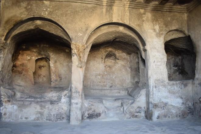 Uplistsikhe cidade cavernas Georgia templo da rainha Tamar