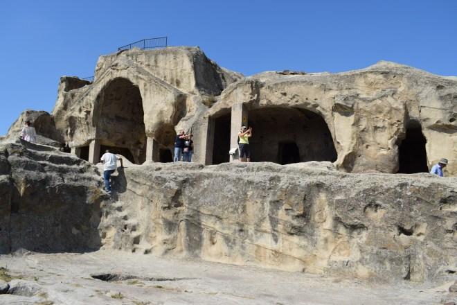 Uplistsikhe cidade cavernas Georgia templos