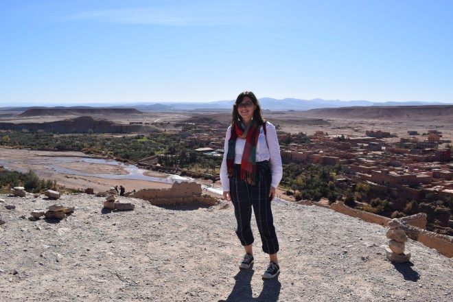 Ait Ben Haddou sul marrocos alto da fortaleza