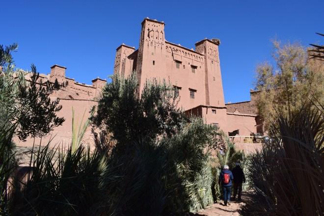 Ait Ben Haddou sul marrocos entrada fortaleza