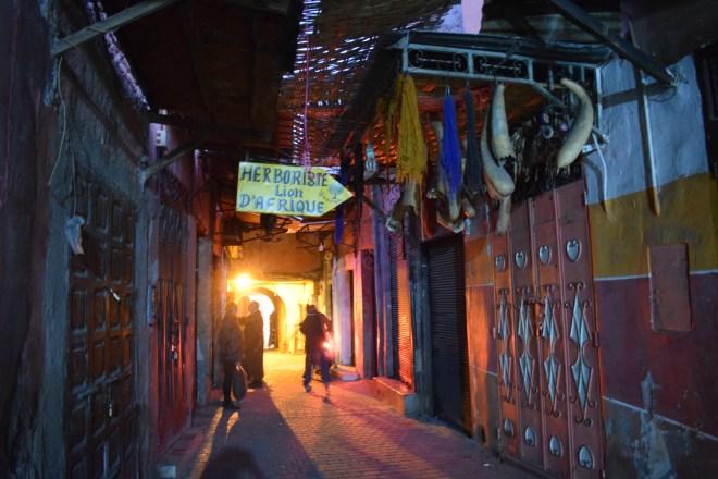 Marrakech medina souqs mercados