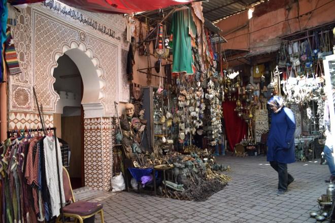 Marrakech medina souqs ruas 3