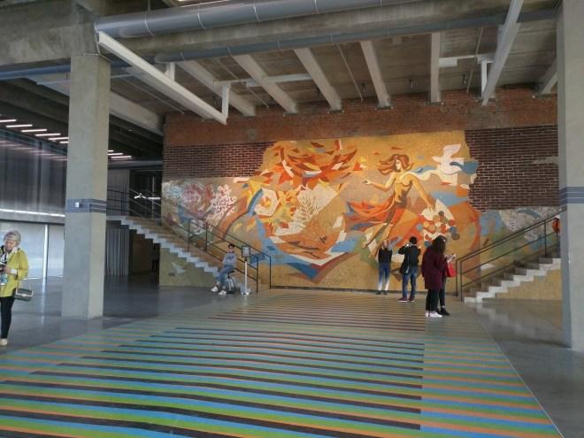 Moscou Parque Gorki museu de arte contemporanea garage 3