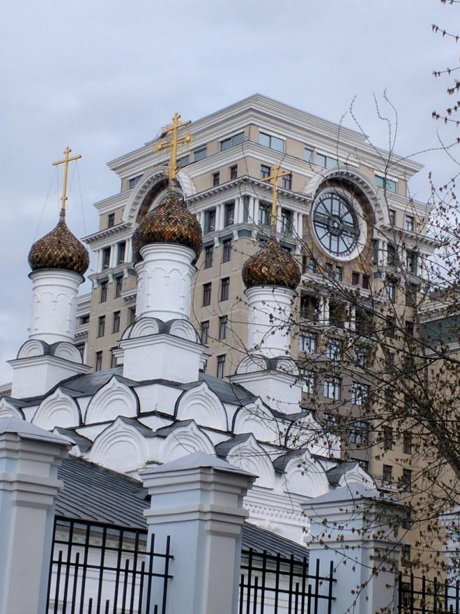 Moscou Parque muzeon esculturas igreja