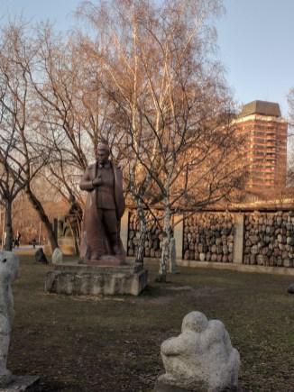 Moscou Parque muzeon esculturas stalin
