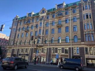 Petersburgo avenida nevski art nouveau norte