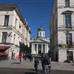 Petersburgo avenida nevski igreja santa catarina armenia