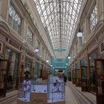 Petersburgo avenida nevski passage shopping luxo