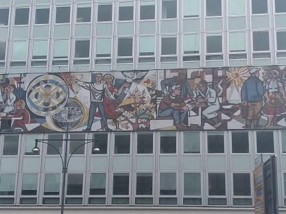 Berlim Karl Marx Allee bairro arquitetura reconstrução 2