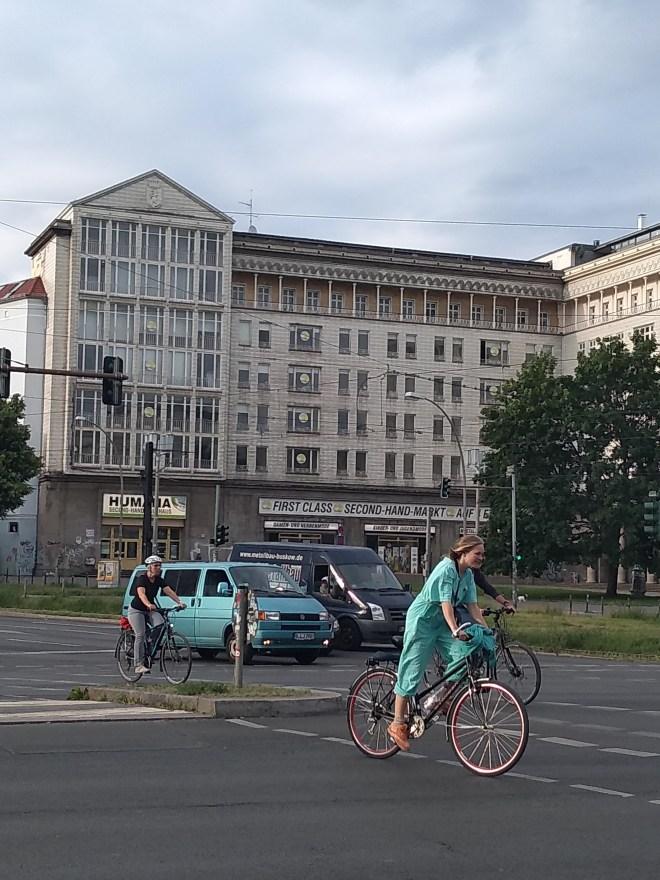 Berlim Karl Marx Allee bairro arquitetura reconstrução 9