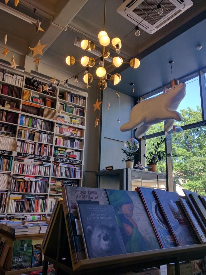 Café livraria podpisnye izdanya petersburgo russia