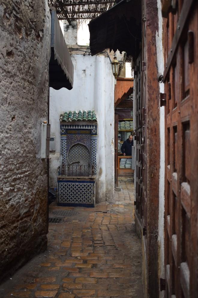 Marrocos Fez medina fontes
