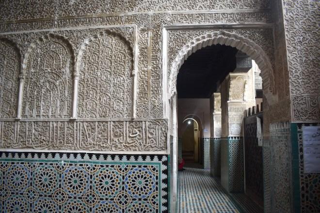 Marrocos Fez medina Medersa bou inania 2