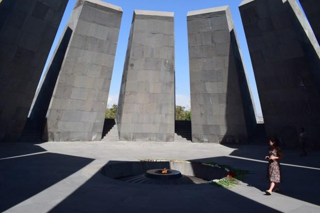 Armênia yerevan memorial genocídio interior
