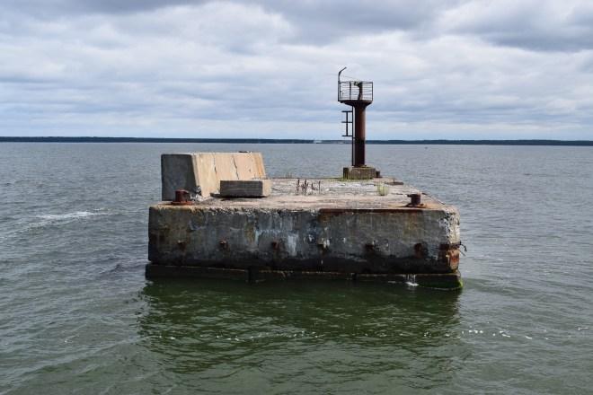 Estonia estação submarinos abandonada Hara 2