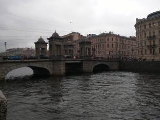 Petersburgo canais pontes lomonossov 2