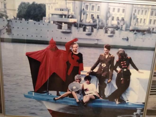 Tallinn Parque Kadriorg kumu moda alternativa sovietica