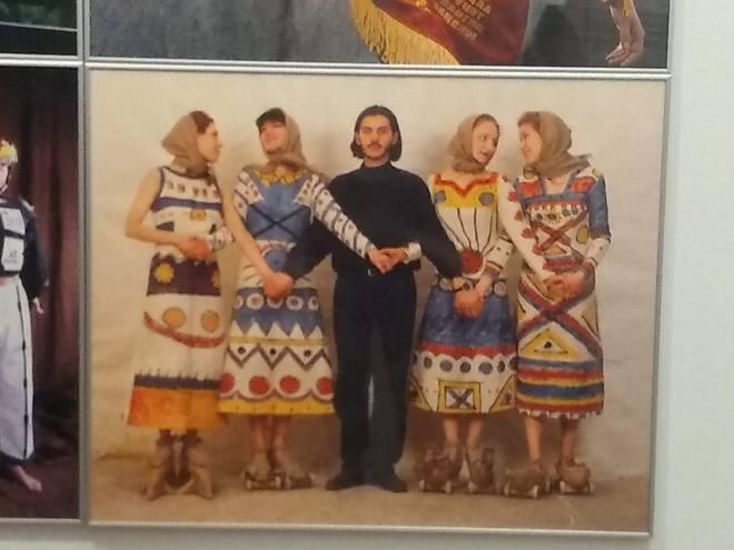 Tallinn Parque Kadriorg kumu moda sovietica