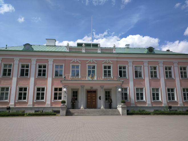 Tallinn Parque Kadriorg palacio presidencial