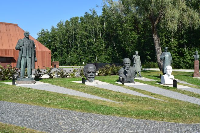 Tallinn estatuas sovieticas abandonadas lenins