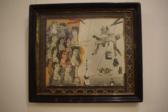 Yerevan casa museu cineasta Parajanov colagem 2