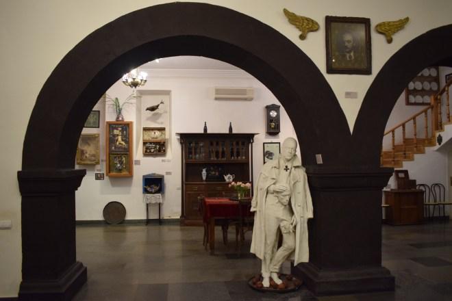 Yerevan casa museu cineasta Parajanov interior