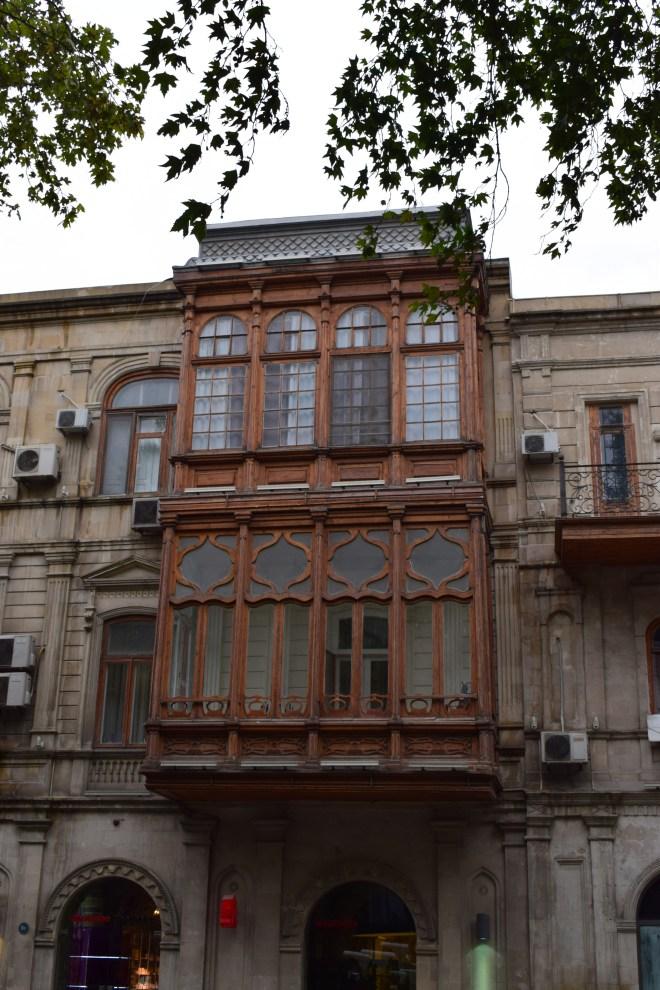 Baku centro histórico varandas