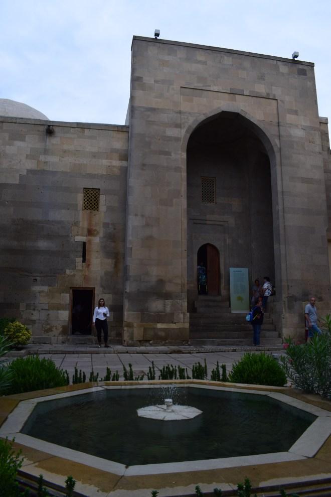 Baku palácio Shirvanshah entrada
