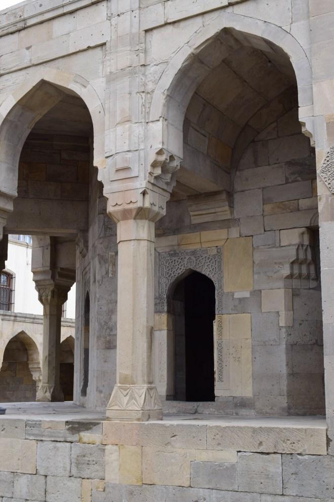 Baku palácio Shirvanshah mausoleu sufi 3
