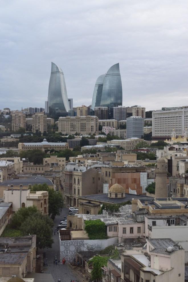 Torre da donzela vista Baku 2