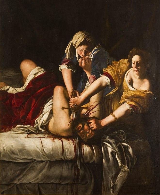 Galeria Uffizi Florença artemisia gentileschi judith holofernes