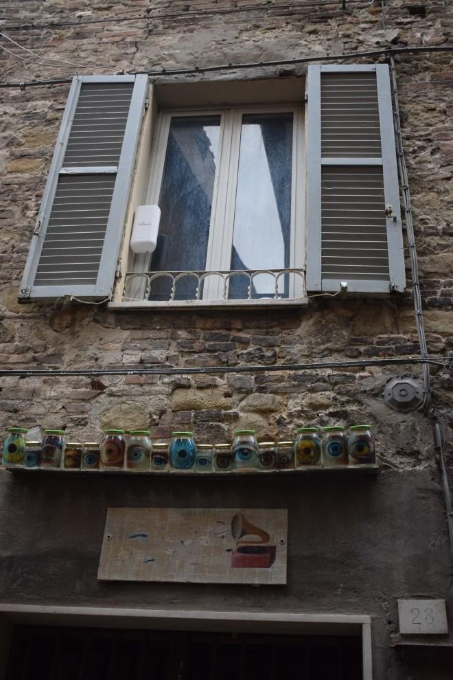 Perugia arte moderna rua 3