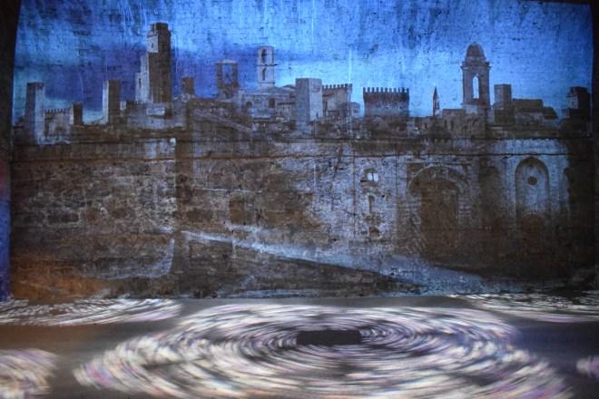 Perugia rocca paolina projeção historia cidade