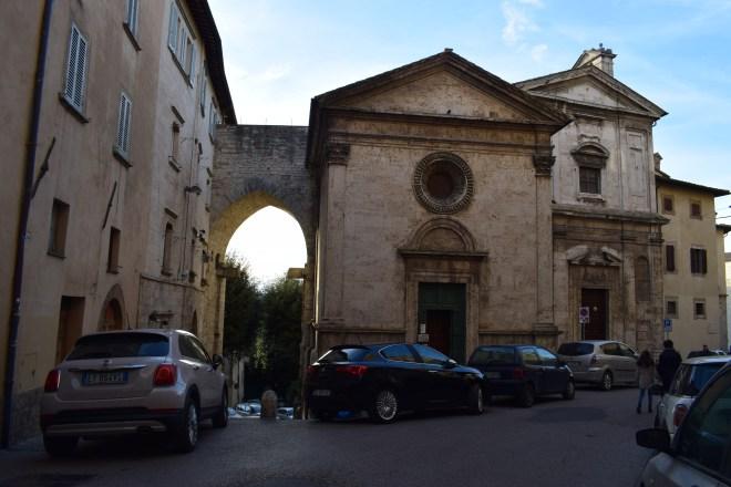 Perugia ruas igrejas