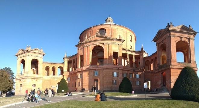 Bologna Igreja San Luca 1