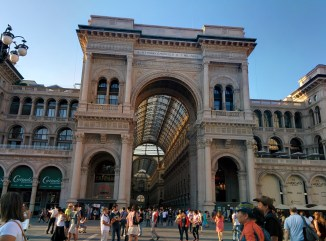Milão visitar galleria vittorio emmanuele 1