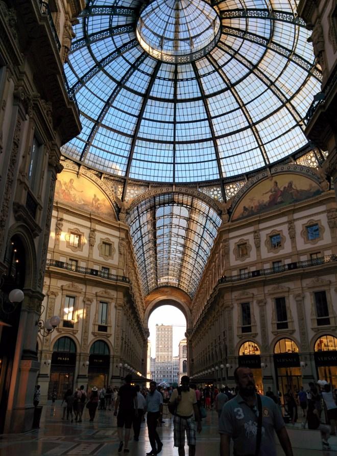 Milão visitar galleria vittorio emmanuele 3