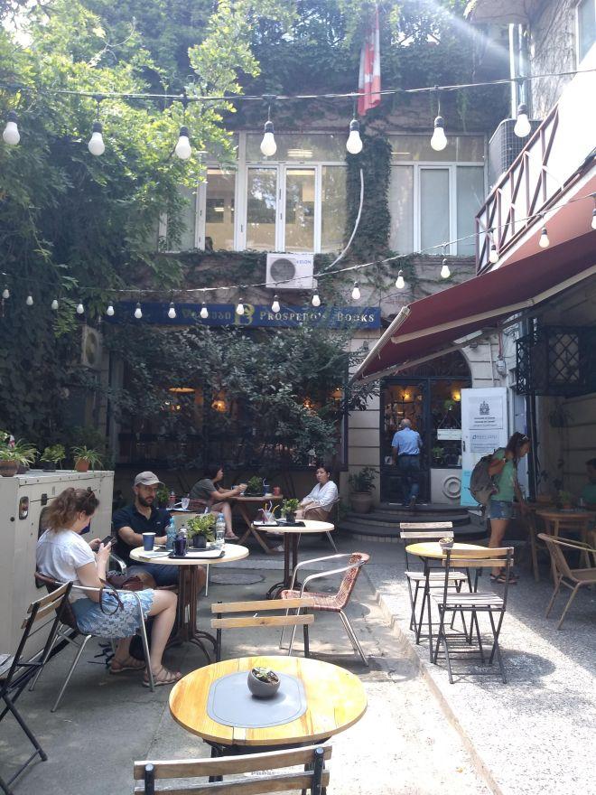 Tbilisi Rustavelli livraria prospero
