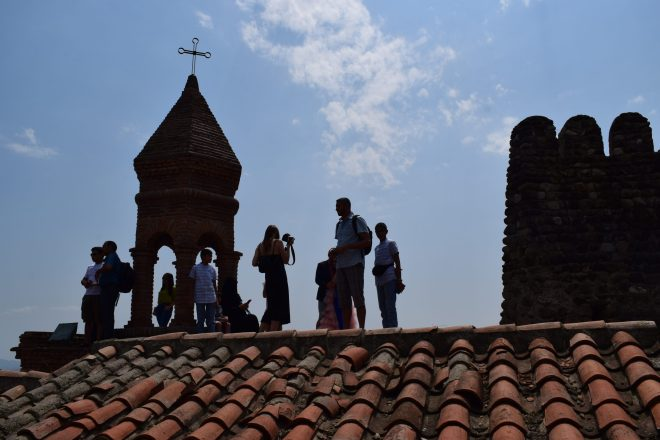 Georgia Sighnaghi igreja nas torres